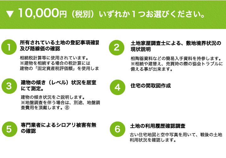 10,000円プラン