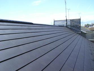 耐震工事(屋根軽量化)